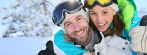 Dating in your 20s can be fun if you enjoy outdoor activities such as skiing and snow tubing.